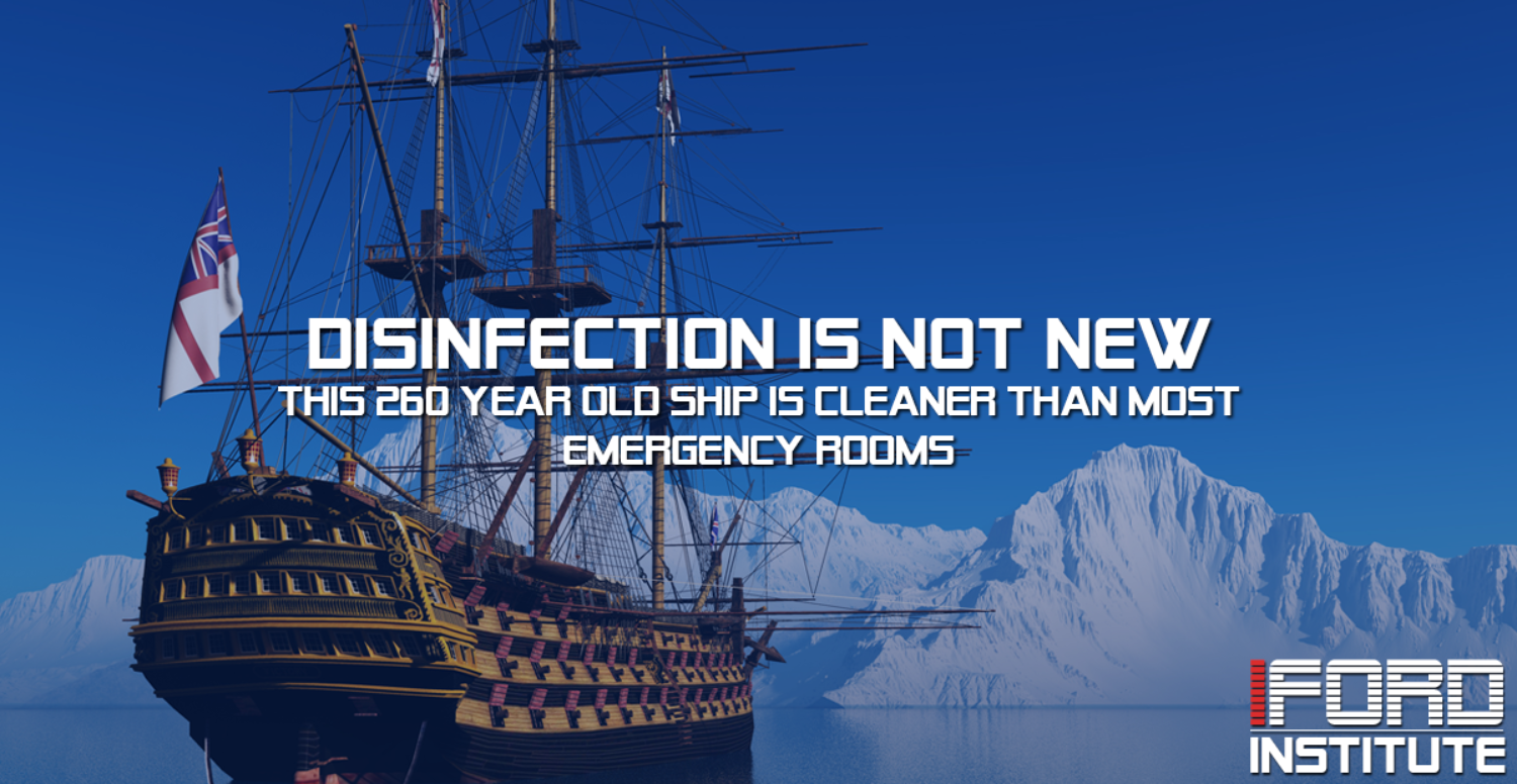 Better Disinfection Efforts 250 Years Ago